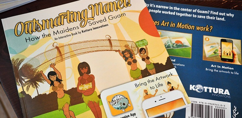 Outsmarting Manet Chamorro Interactive Book - Now Available For Purchase